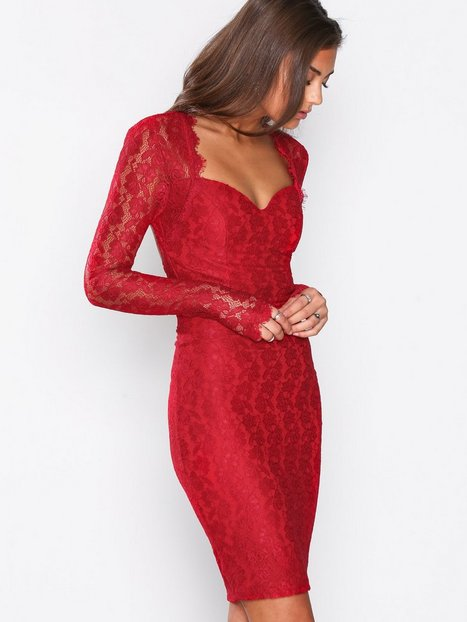 Bombshell LS Lace Dress