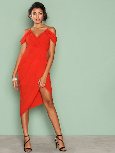 Billede af Ginger Fizz True Romantic Drape Dress Kropsnære kjoler Red