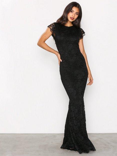 Billede af Honor Gold Faye Cap Sleeve Maxi Dress Kropsnære kjoler Black