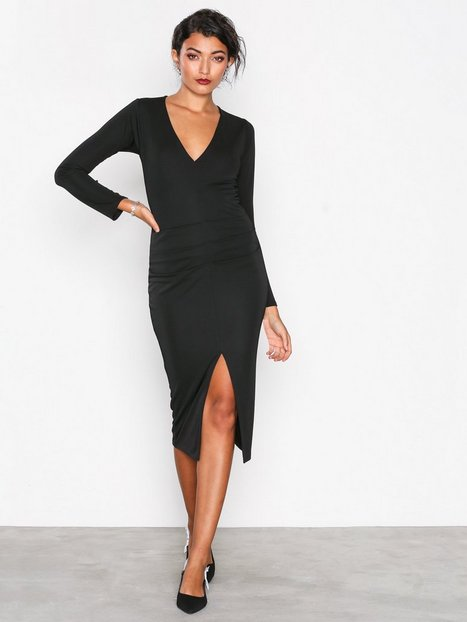 Honor Gold Jessica Midi Dress Fodralklänningar Black thumbnail