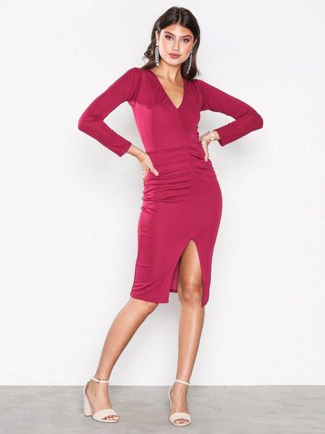 Billede af Honor Gold Jessica Midi Dress Kropsnære kjoler Berry