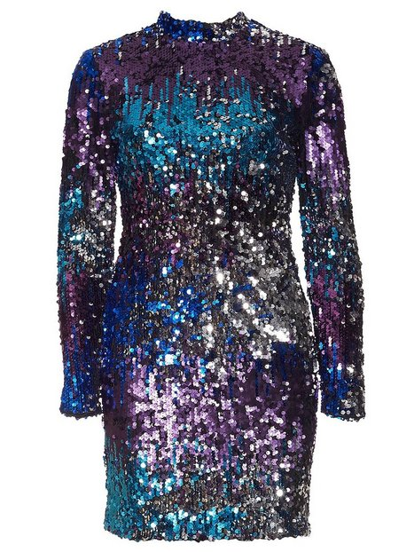 Fade Away Sequin Dress
