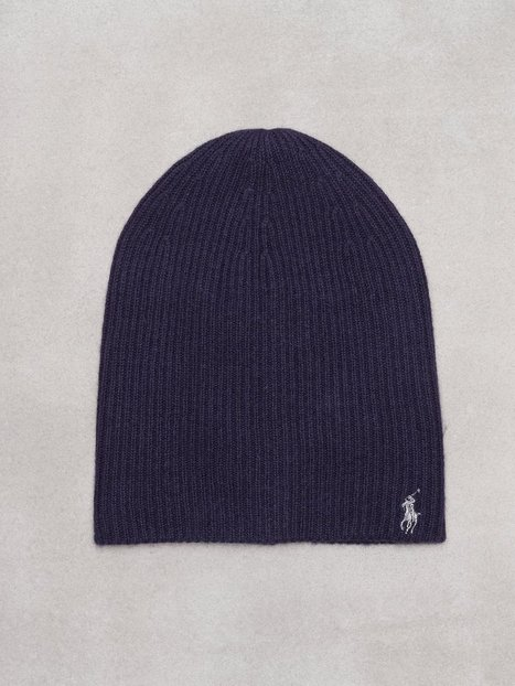 Polo Ralph Lauren Pony Wool Hat Mössor Navy thumbnail