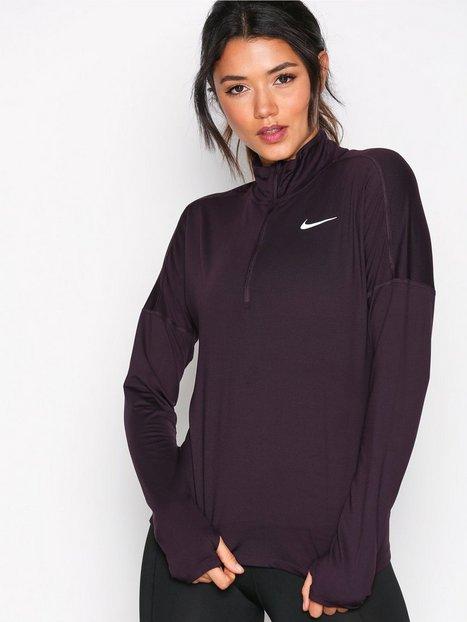 Billede af Nike NK Dry Elmnt Top Hz Lynlås trøje Wine