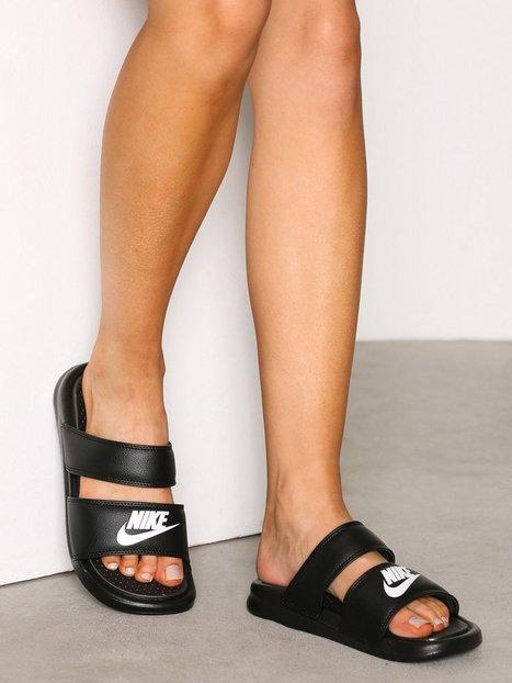 Billede af Nike Benassi Duo Ultra Sandal Flats Sort