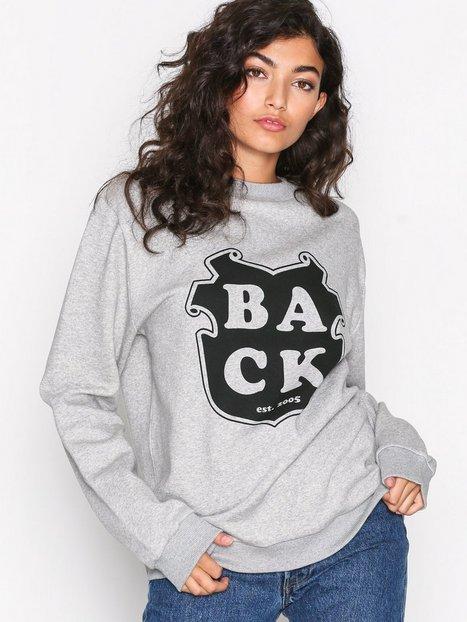 Billede af BACK Uni Sweat Sweatshirt Grey Melange