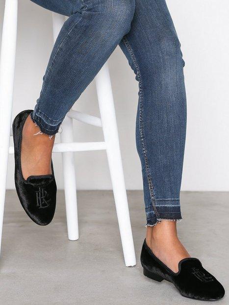 Billede af Lauren Ralph Lauren Coleena Flats Loafers Sort