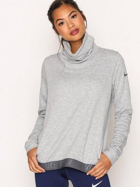 Billede af Nike Nk Dry Top Cowl Neck LS Sweatshirt Grå