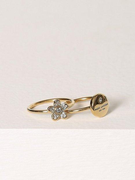 Billede af Marc Jacobs Mj Coin Charm Ring Ring Guld