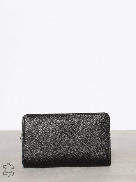 Marc Jacobs Compact Wallet Plånböcker Svart