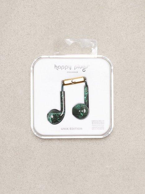 Billede af Happy Plugs Earbud Plus Høretelefoner Grøn