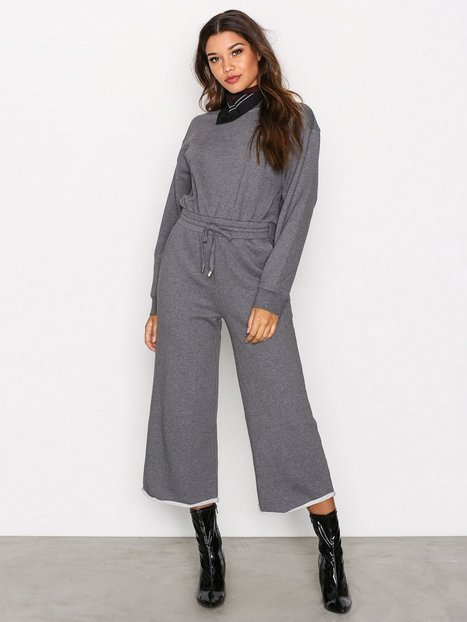 Billede af T By Alexander Wang Dry French L/S Jumpsuit Jumpsuits Heather Grey
