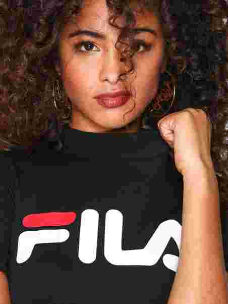 252d6944 Every Turtle Tee - Fila - Black - Tops - Clothing - Women - Nelly.com