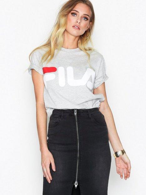 Billede af Fila Classic Logo Tee T-shirt Light Grey Melange