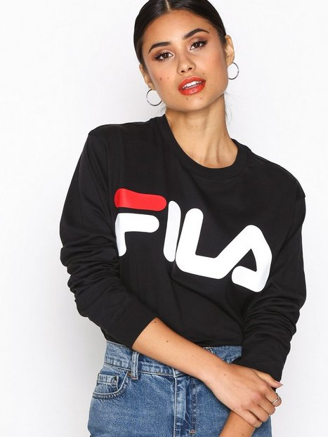 Billede af Fila Classic Logo Long Sleeve Sweatshirt Black