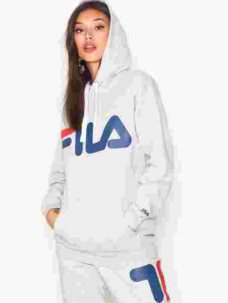 9a418180fbe3 Classic Logo Hood - Fila - Light Grey Melange - Jumpers & Cardigans ...
