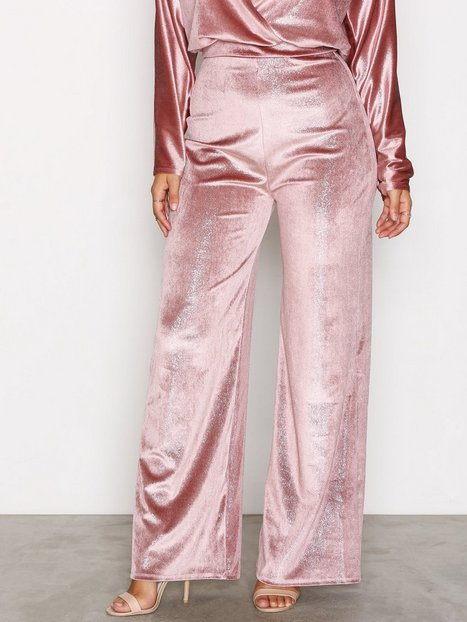Shimmer Velvet Pant