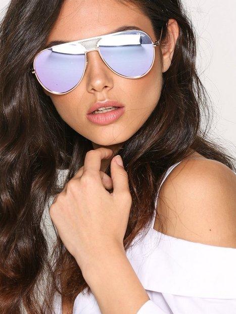 Billede af Quay Australia Iconic Solbriller Guld/ Lilla