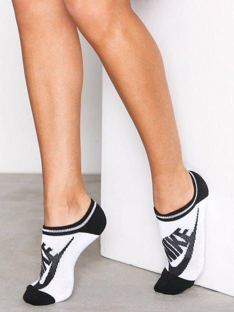 Billede af Nike 3PPK Striped No Sh Strømper Hvid/Sort