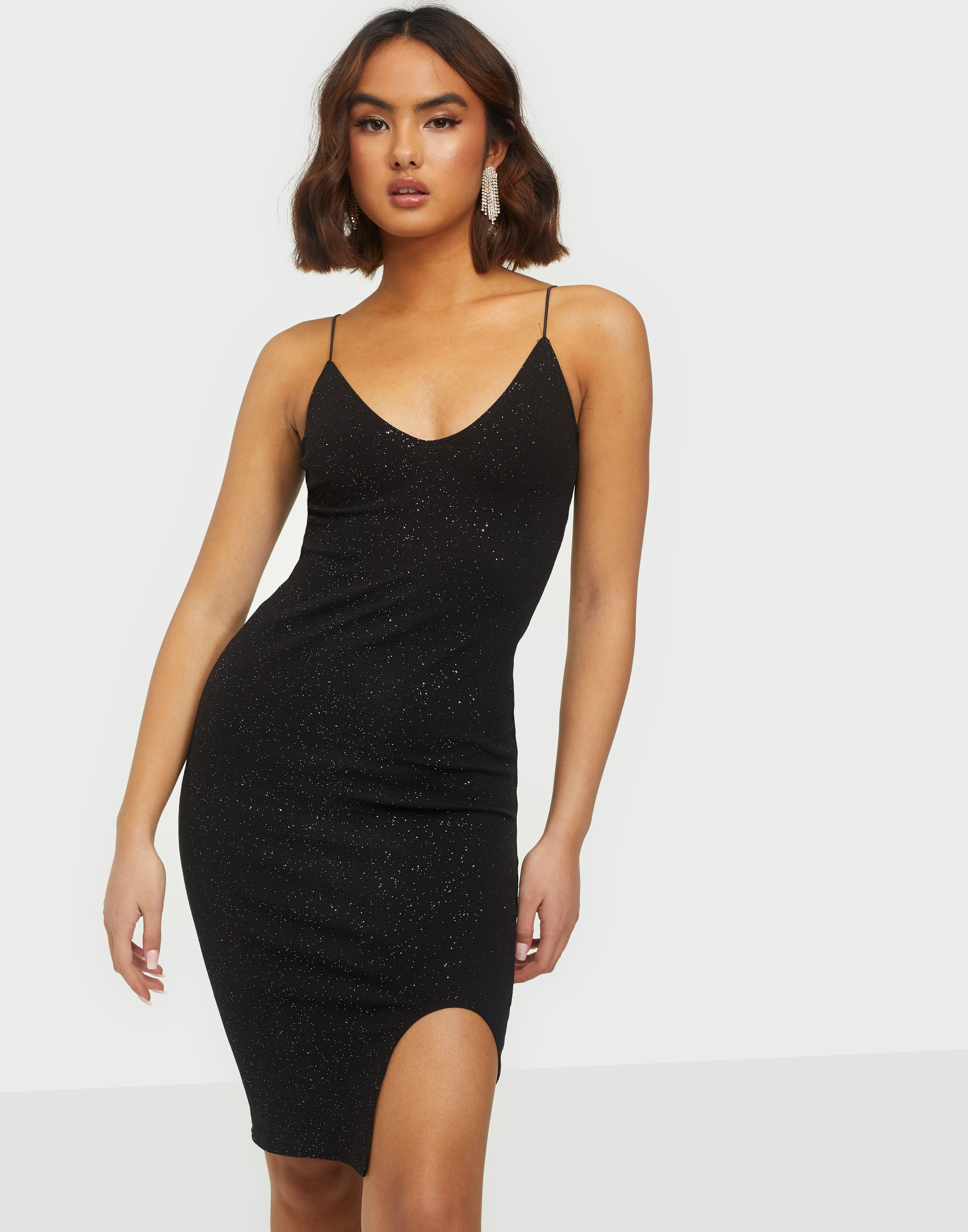 Black Sparkly Dress