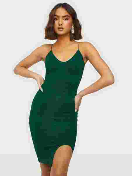 2f6bb8a8830fd Bombshell Sparkle Dress - Nly One - Green - Party Dresses - Clothing ...
