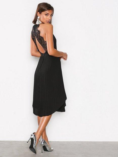 Lace Midi Dress - Nly One - Schwarz - Partykleider - Kleidung ...