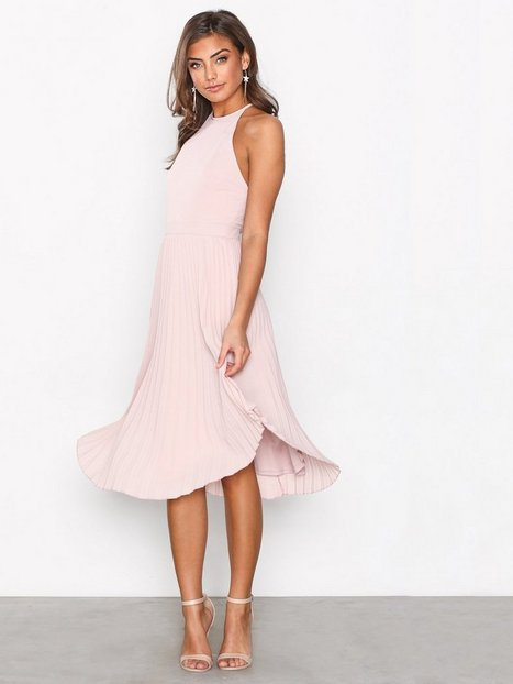 Lace Midi Dress - Nly One - Rose - Partykleider - Kleidung - Damen ...