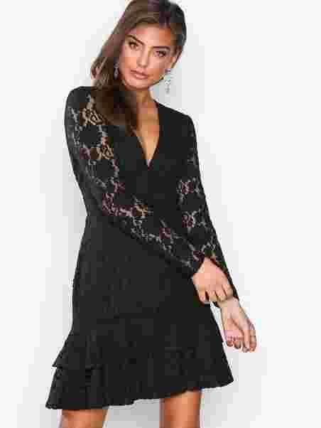 Shoppa Ls Frill Lace Dress - Online Hos Nelly.com 0e342381b5252