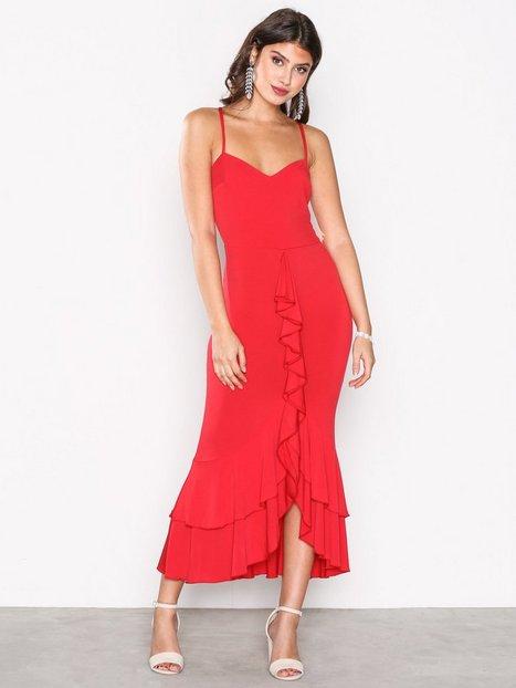 Sweetheart Frill Dress
