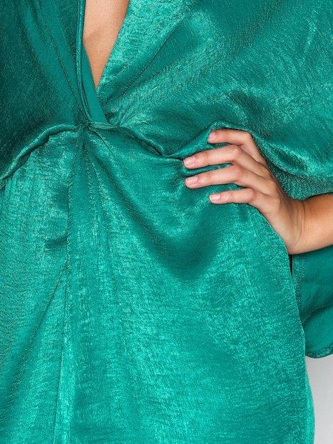 Satin Twist Dress