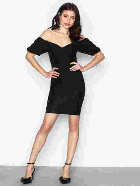 Shoppa Puff Sleeve Dress - Online Hos Nelly.com de99f55589f6f
