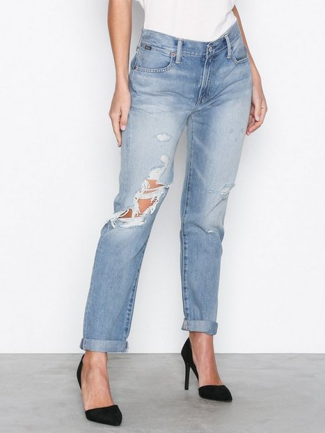 Polo Ralph Lauren Astor Slim Boyfriend Relaxed Jeans Slim Blue thumbnail