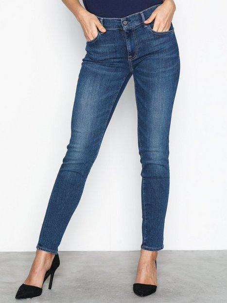Billede af Polo Ralph Lauren Super Skinny Reese Wash Jeans Skinny Blue