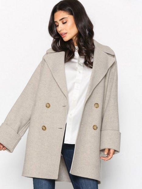 Billede af Polo Ralph Lauren Doubleface Wool Coat Frakke Grey