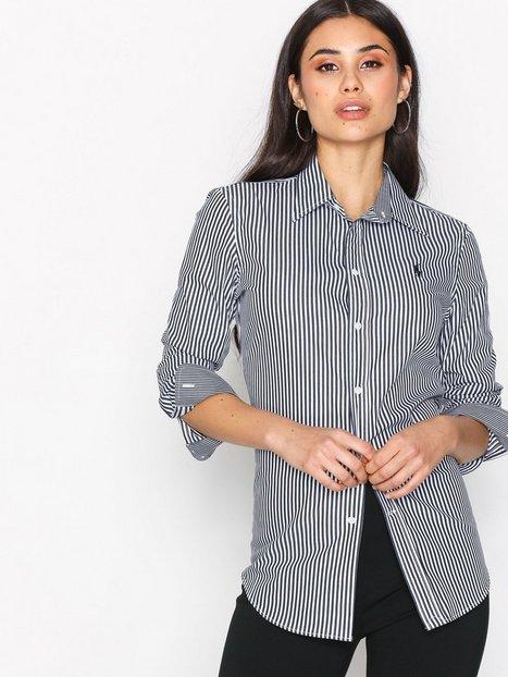 Billede af Polo Ralph Lauren Andrew Kendal Long Sleeve Shirt Skjorter Black/White