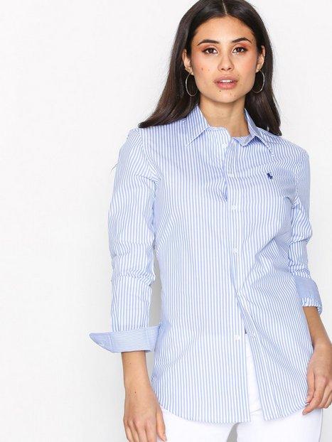 Billede af Polo Ralph Lauren Andrew Kendal Long Sleeve Shirt Skjorter Blue/White