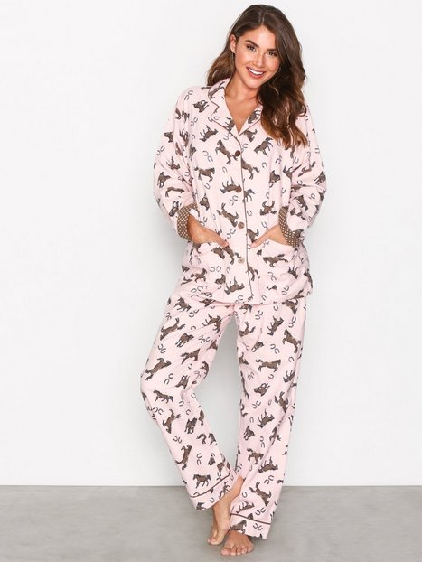 Billede af P-J Salvage Rehop PJ Set Pyjamas & Hyggetøj Rosa/Lyserød