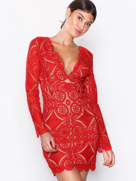 Billede af Love Triangle Atomic Mini Dress Kropsnære kjoler Red