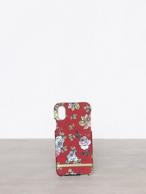 Red Floral iPhone X