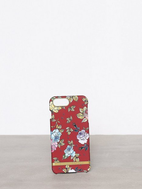 Billede af Richmond & Finch Red Floral iPhone 6&7 PLUS Mobilcover Rød