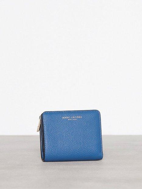 Marc Jacobs Mini Compact Wallet Plånböcker Blå