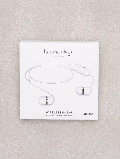 Billede af Happy Plugs Wireless In-Ear Høretelefoner Hvid