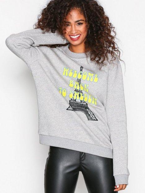 Billede af BACK Uni Sweat Sweatshirts Grey Melange