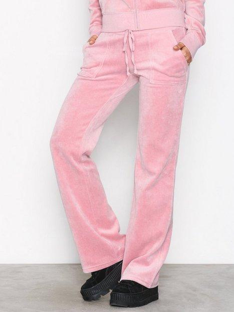 Billede af Juicy Couture Trk Velour Del Rey Pant Bukser Dusty Pink