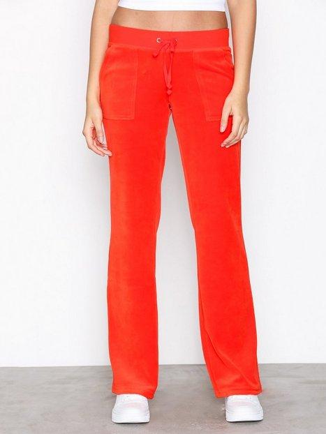 Billede af Juicy Couture Velour Del Rey Pant Bukser Bright Red