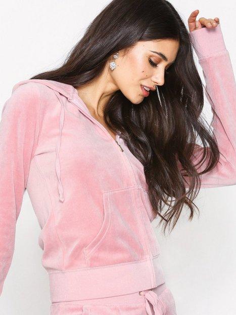 Billede af Juicy Couture Trk Velour Robertson Jacket Hoods Dusty Pink