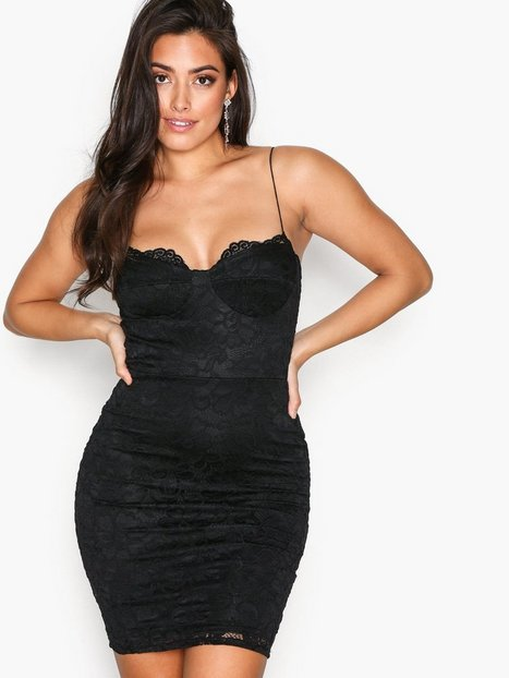 NLY One Lace Bodycon Dress Festklänningar Svart thumbnail