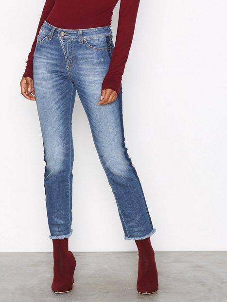 Billede af Hunkydory Aubrey Stripe Jeans Straight Indigo