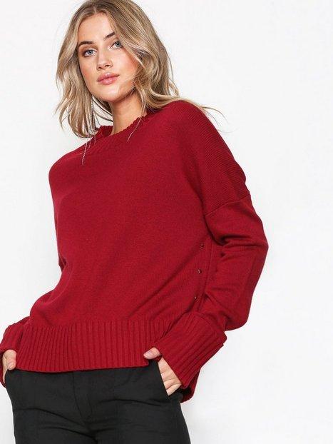 Billede af Hunkydory Molly Star Box Knit Strikkede trøjer Red