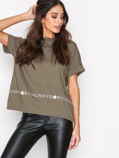 Billede af Hunkydory H.D Logo T T-shirt Army Green
